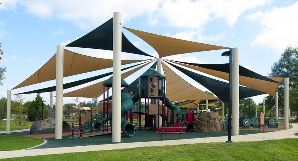 Shade Systems Sails Imaginative Shade Protection For Public Spaces