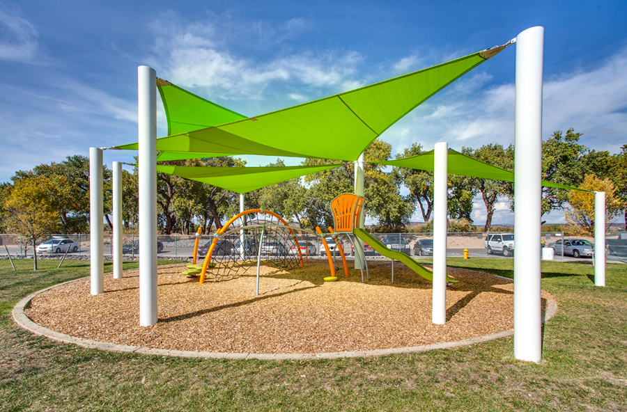 Bright And Stunning Shade Systems Sails In New Mexico