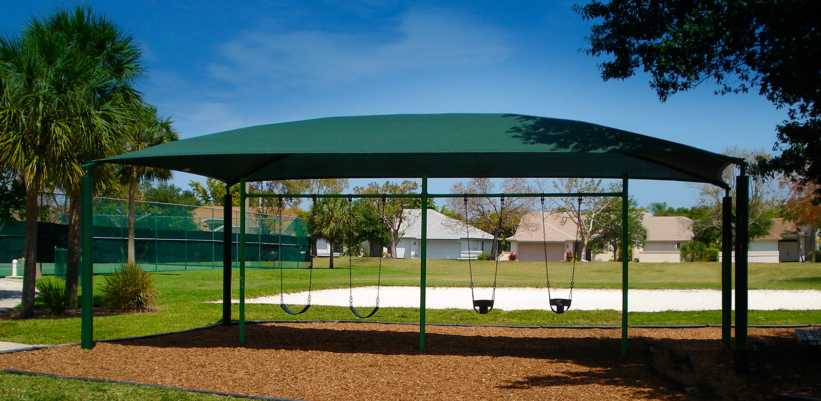 slider PlaygroundWidescr4 Playgrounds Shade Structures to Protect Children & Shade Systems fabric structures for sun protection on playgrounds